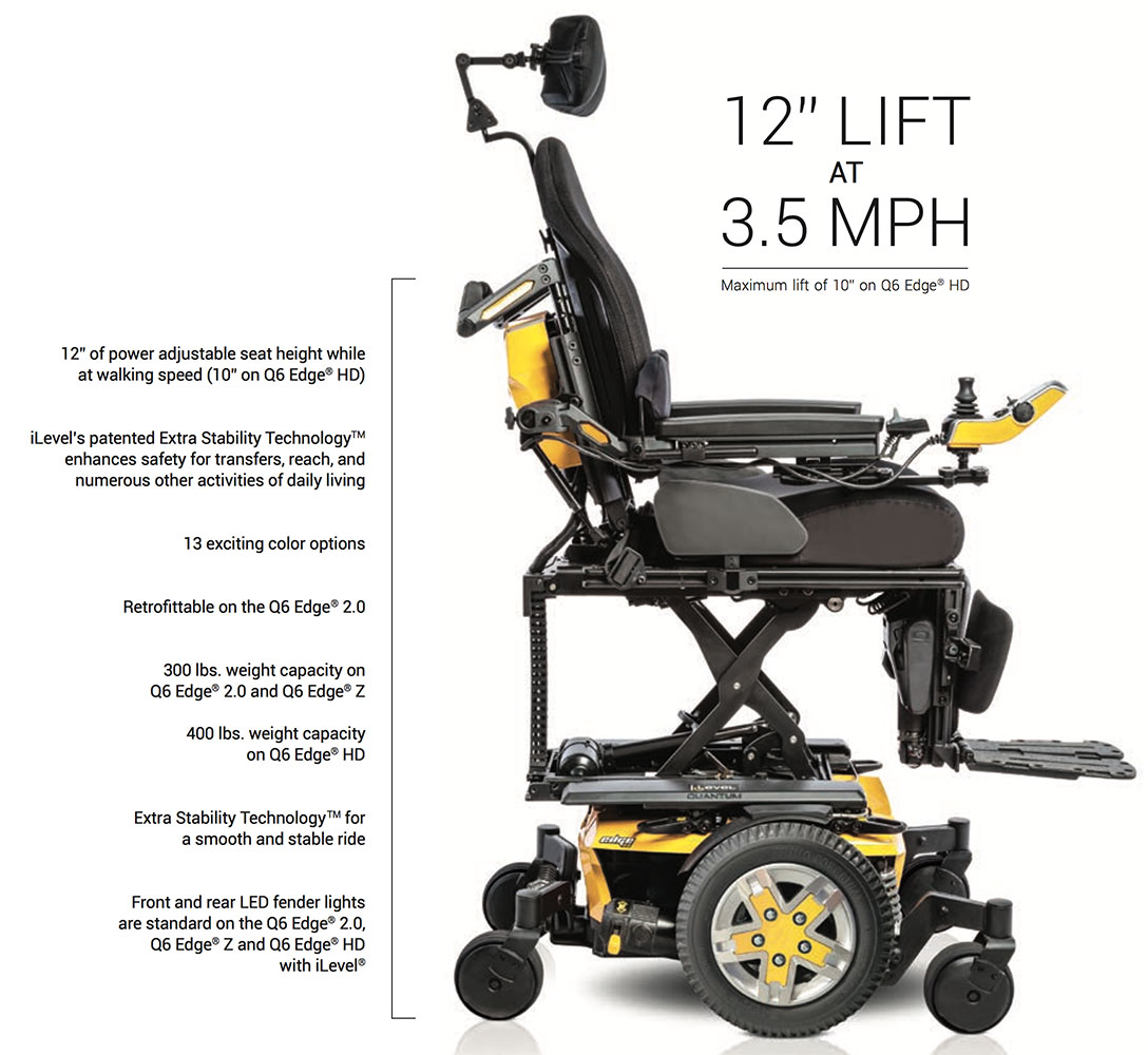 Quantum - Dedicated to Revolutionizing the Power Chair