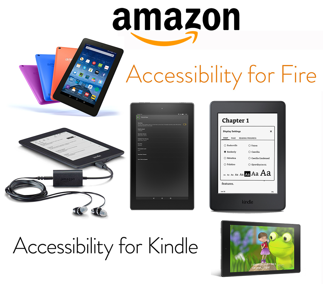Introducing New Accessibility Features on Kindle and Fire