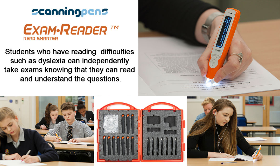 Scanning Pens Exam Reader - Allows Students To Read The Exam