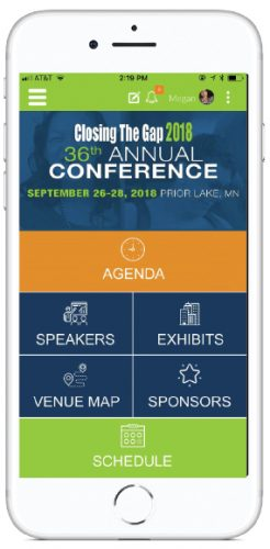Image of Conference App on iPhone