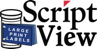 Picture of Script View label logo