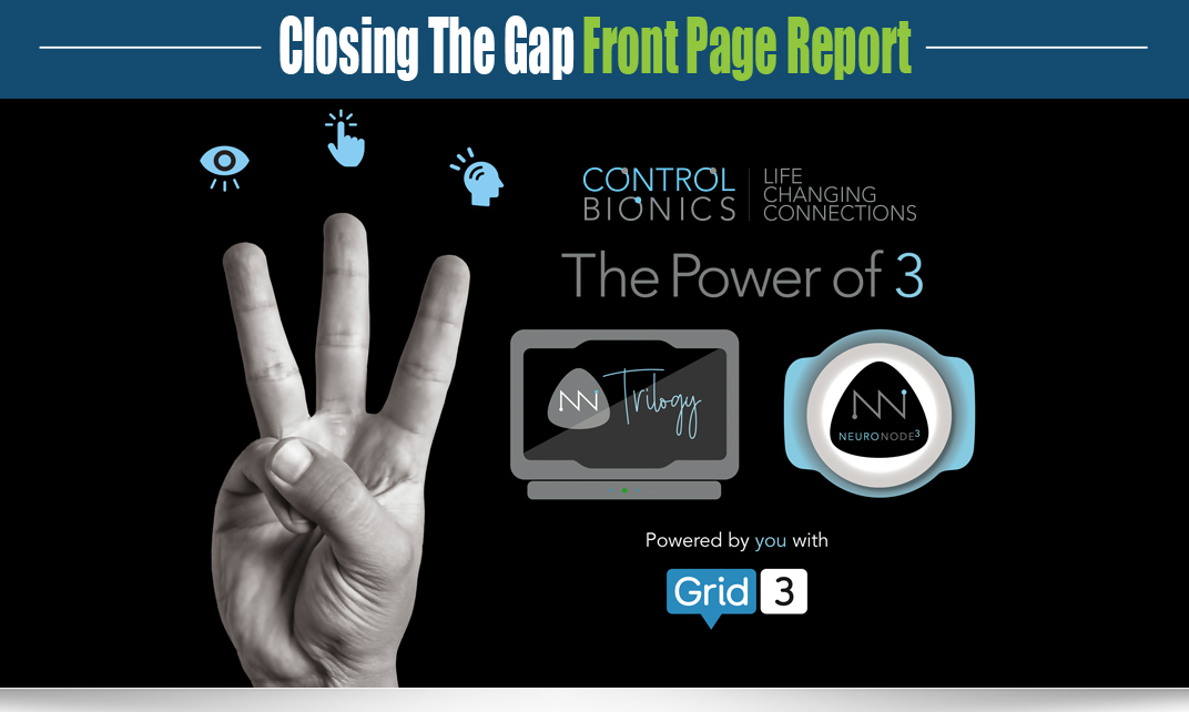 Neuronode Trilogy - The Latest AAC System from Control Bionics |Closing The  Gap
