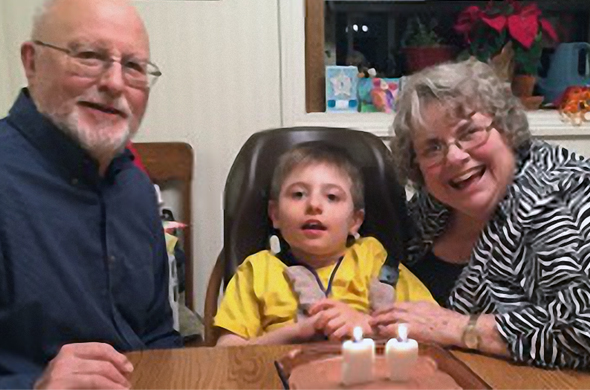 Kenneth Klatt is, together with his wife Barbara, guardian of ten year old Tim.