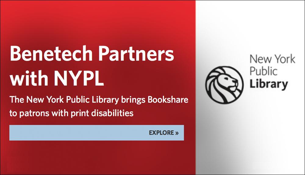 Infographic: Benetech Partner with NYPL (NYPL Logo)